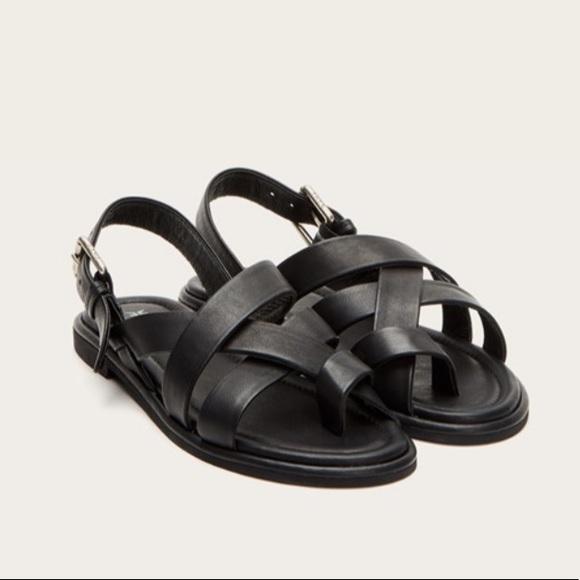 Frye Tait Criss Cross Sandals